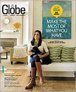 Rachel Reid's Lexington home was featured in the Boston Globe Magazine in February 2009